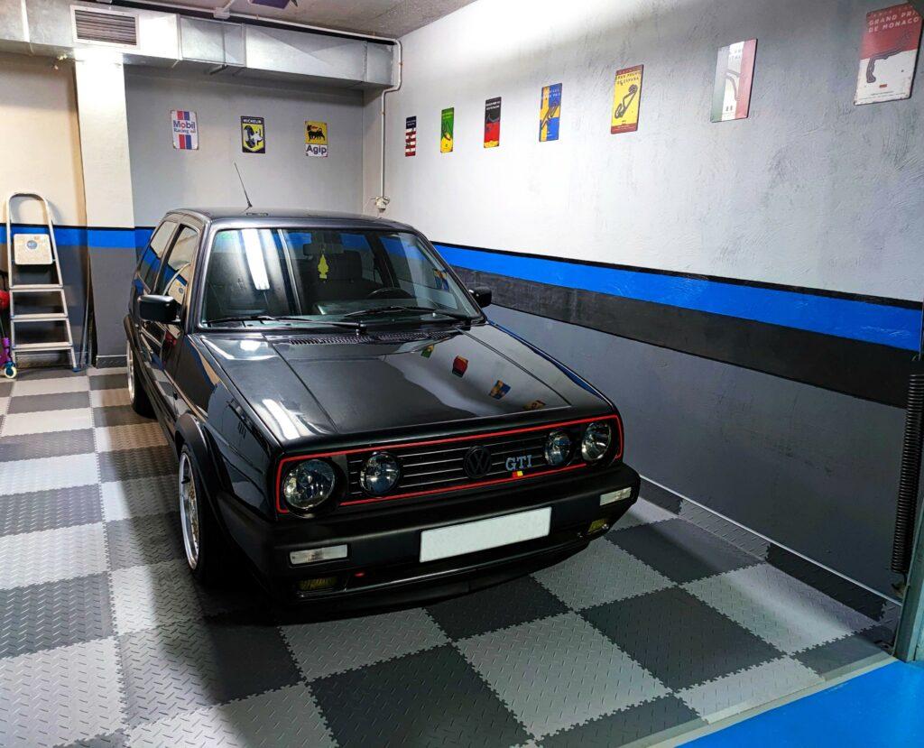 Garage, Espagne