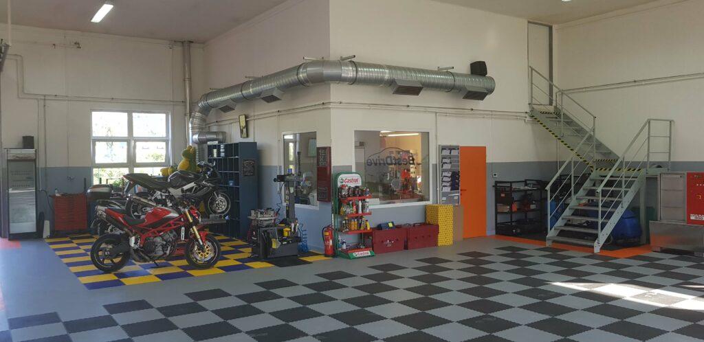 Garage auto, République tchèque