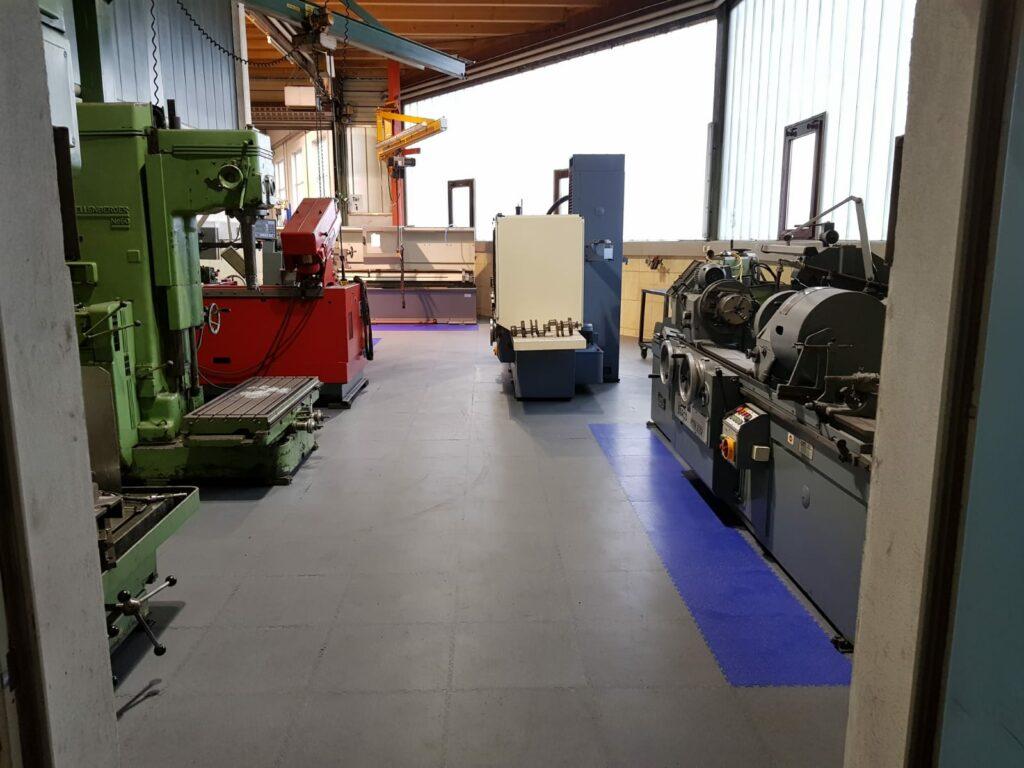 Hall de fabrication, Allemagne