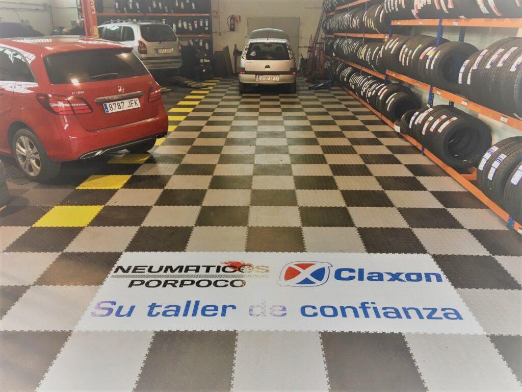 Garage automobile, Espagne